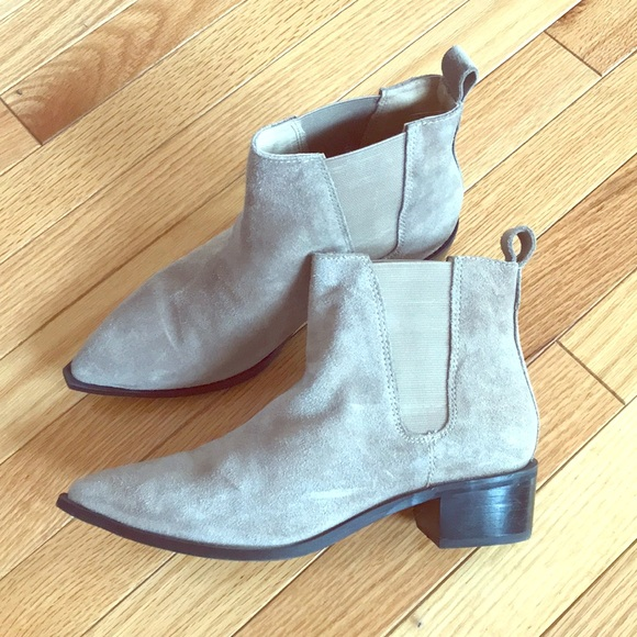 SEY Collection Shoes - SEY Collection Short Suede Boot